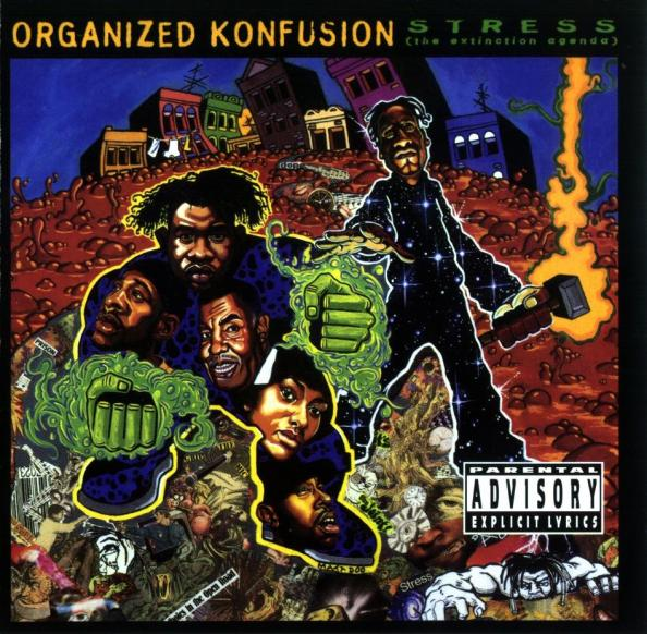 ('94) Organized Konfusion - Stress the Extinction Agenda LP